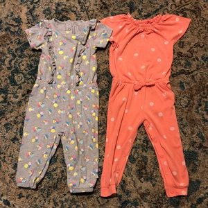 Romper bundle 24m & 2T